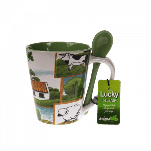 Countryside Mug and Spoon 25705