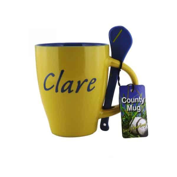 Clare Hurling Mug & Spoon