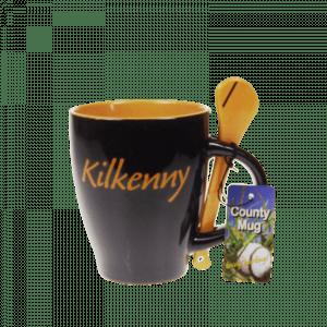 25709 – Kilkenny Hurling Mug + Spoon
