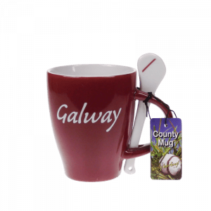 Galway Hurling Mug and Spoon 25710