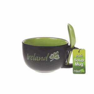 Irish Soup Cup and Spoon 25715