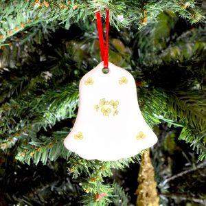 Christmas Decoration with Shamrock from Ireland