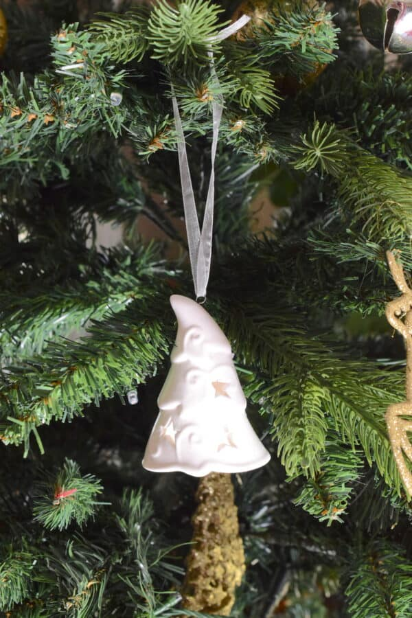 Ceramic Christmas Tree Bell