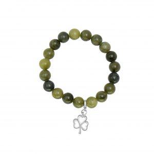 Shamrock Charm Stretch Bracelet 60806