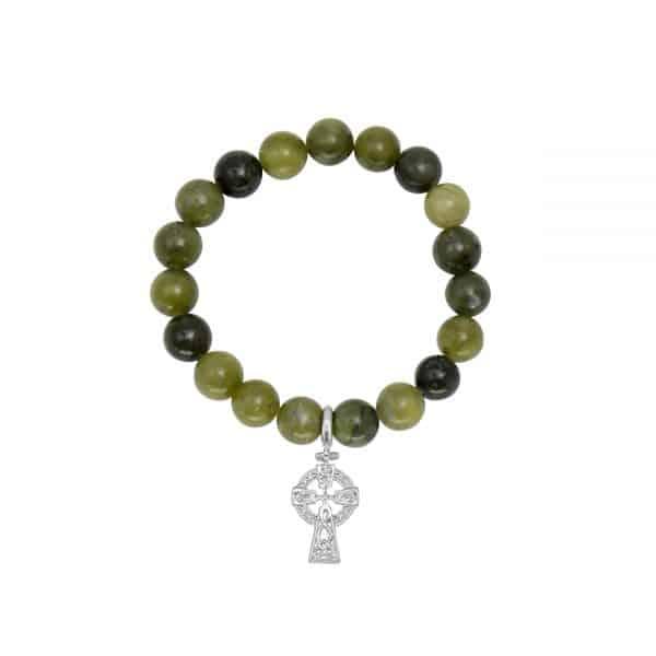 Celtic Cross Charm Bracelet