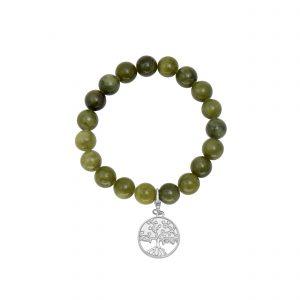 Tree of Life Charm Stretch Bracelet 60812