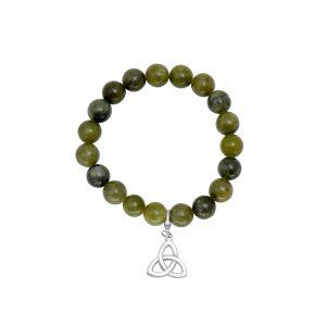 Trinity Knot Charm Bracelet