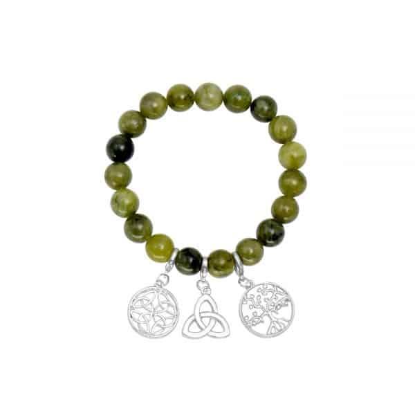 Celtic Three Charm Bracelet