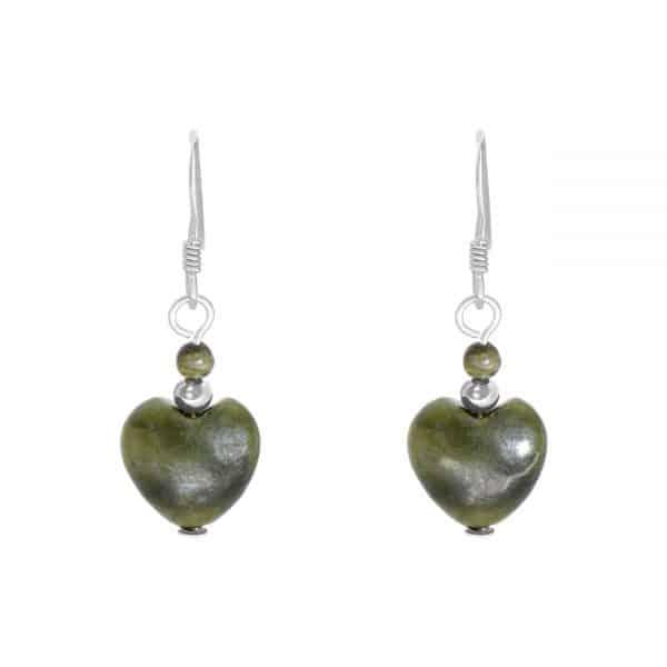 Connemara Heart Earrings