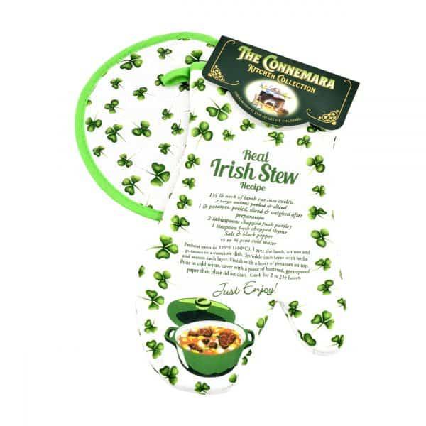Irish Stew Oven Mitt & Pot Holder