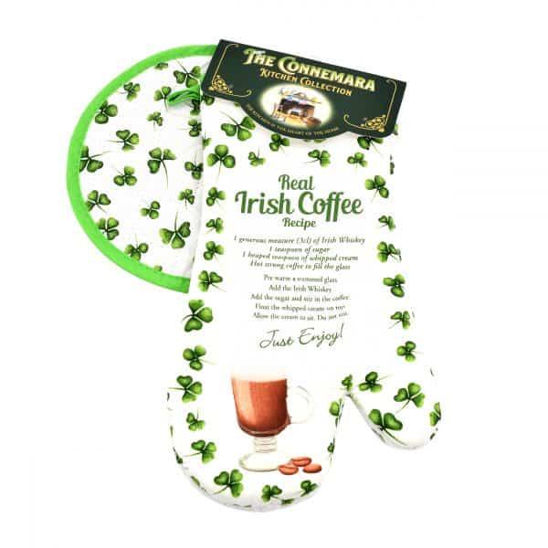 Irish Coffee Oven MItt & Pot Holder