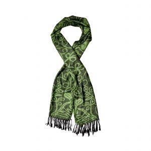 148 Green Pashmina