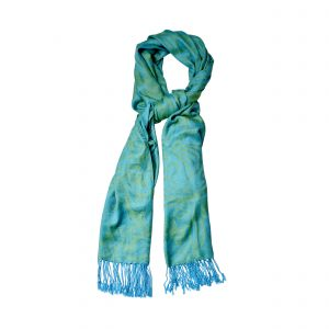 Turquoise Pashmina Scarf