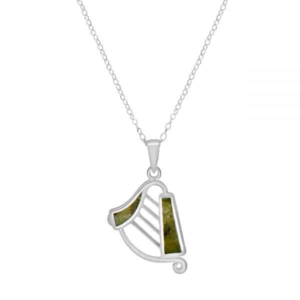 Irish Harp Pendant