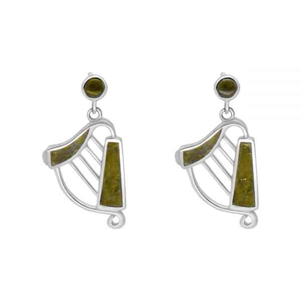Irish Harp Earrings