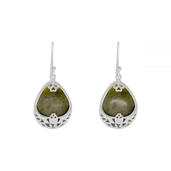 Claddagh Basket Earrings