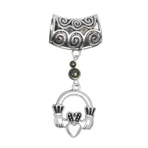 Claddagh Scarf Ring 14922