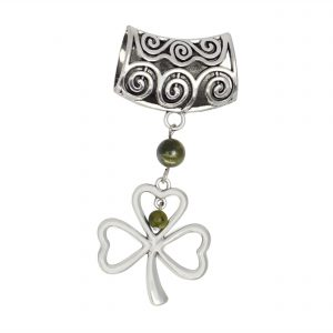 Shamrock Scarf Ring 14921