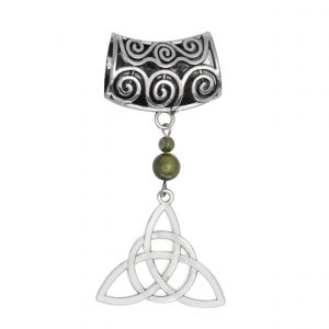 Trinity Knot Scarf Ring 14923