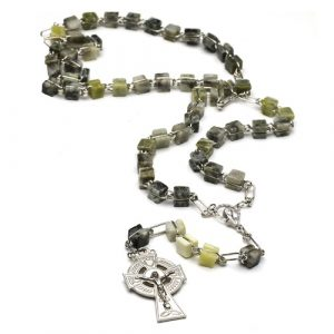 Connemara Marble Rosary Links of Eternal Beauty C100