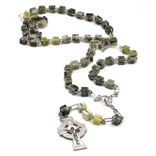 Connemara Marble Rosary Links of Eternal Beauty