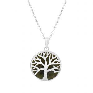 Connemara Marble Tree of Life Pendant 70049