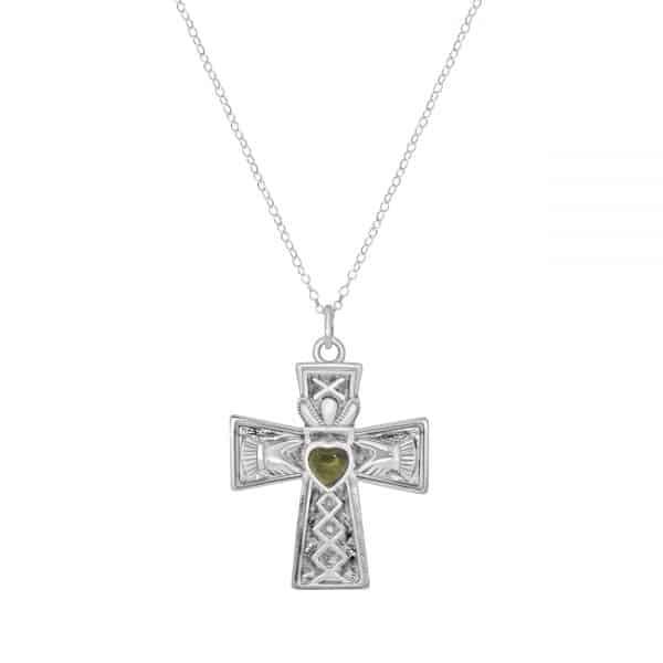 Claddagh Cross Pendant