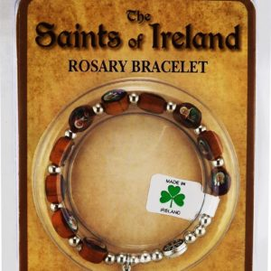 Saints of Ireland Rosary Bracelet