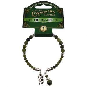 Double Shamrock Horseshoe Bracelet 46626