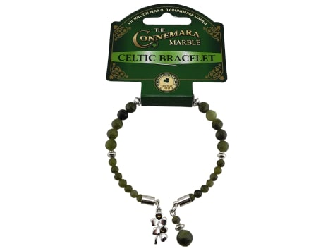 Shamrock charm Horseshoe Bracelet