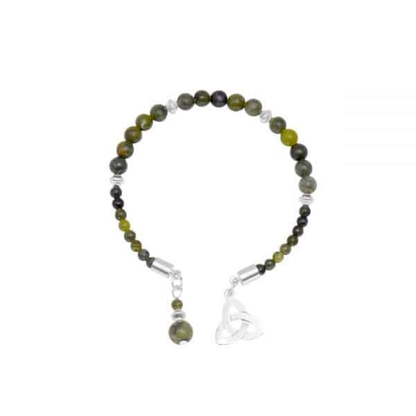 Trinity Knot Horseshoe Bracelet