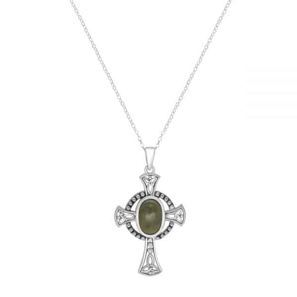 Curved Cross Pendant