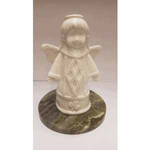 Angel Christmas Gift on Connemara Marble