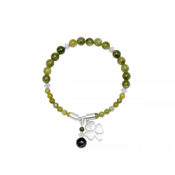 Shamrock Horseshoe Bracelet