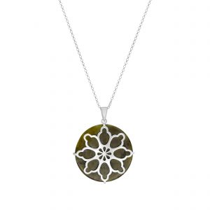 Stained Glass Window Pendant 70057