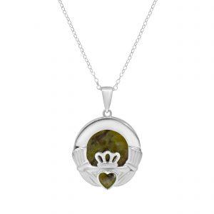 Claddagh Silver Pendant 70050