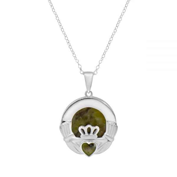 Claddagh Silver Pendant