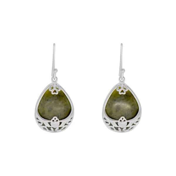Basket Silver Pendant with earrings