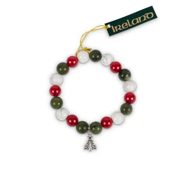 Christmas Tree Charm Bracelt with Christmas Tree Charm