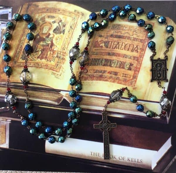 book of kells rosary imag