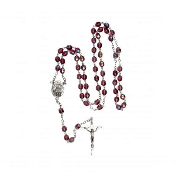 Amethyst Rosary Beads