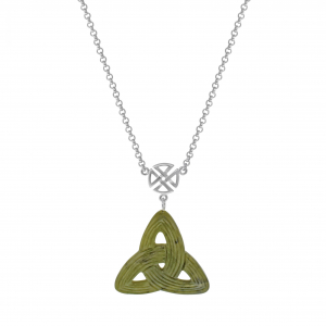 Celtic Trinity Knot Pendant with Sterling Silver Chain