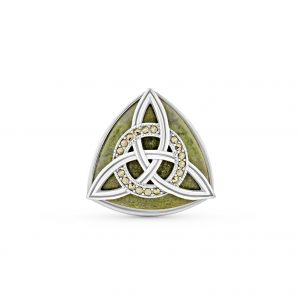 Trinity Knot with Marcasite Ring