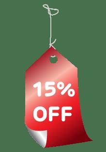 15%tag