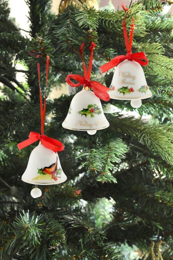 Christmas Decoration Set 3 Bells from Ireland