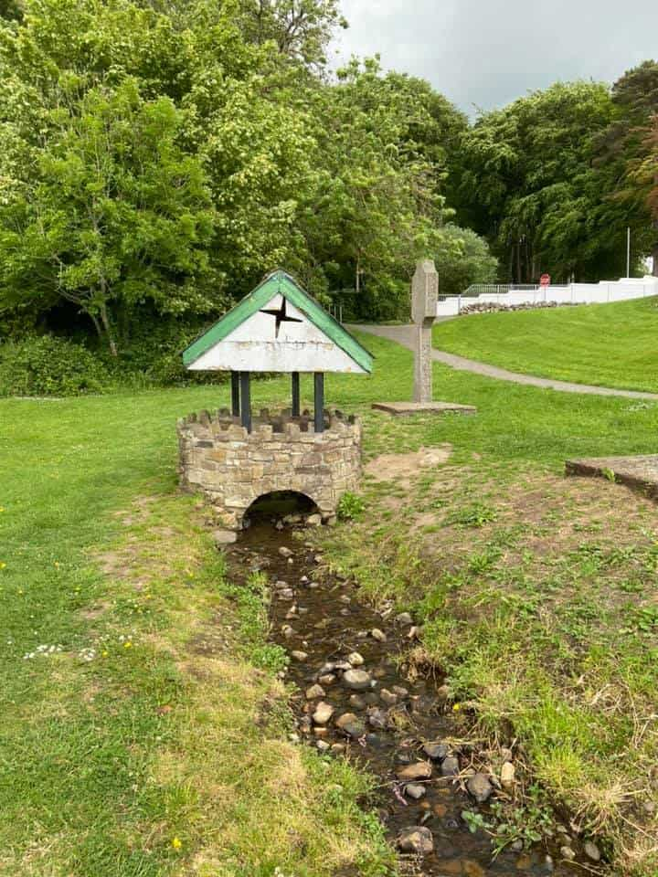 Saint Brigid's Well virtual walk with Connemara Marble
