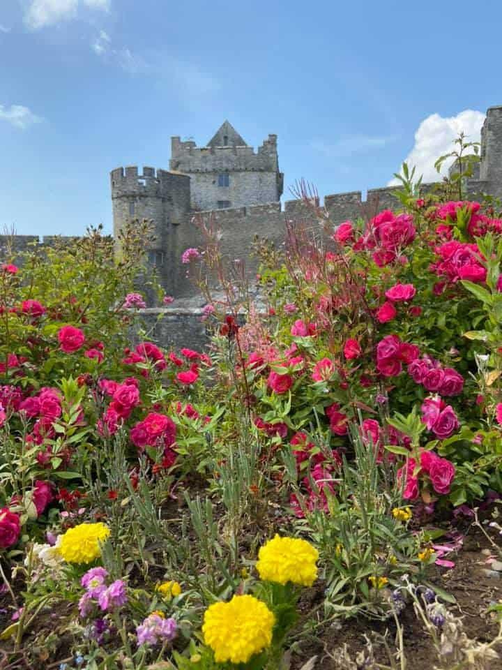 Cahir Castle with Stephen Connemara Marble