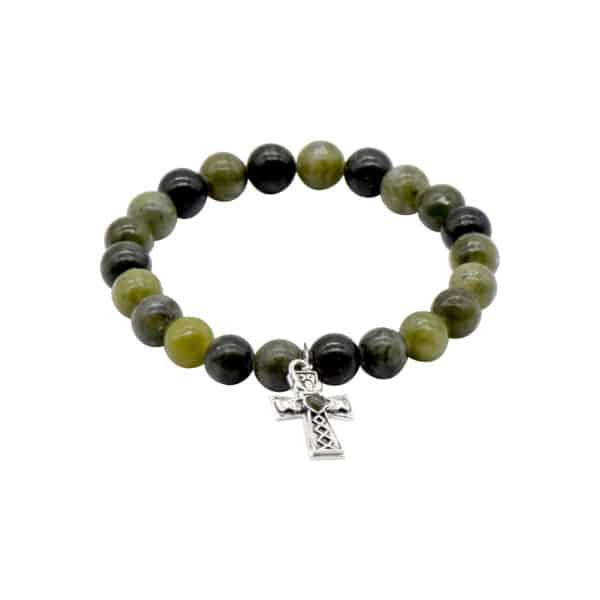 Claddagh Cross Charm Bracelet