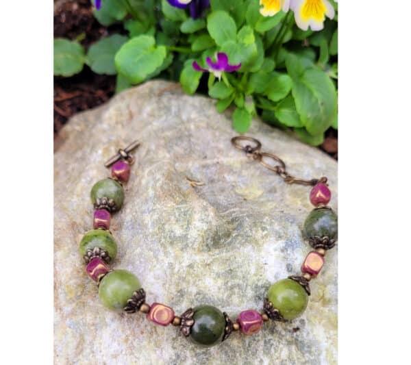 Connemara Marble Vintage Bracelet