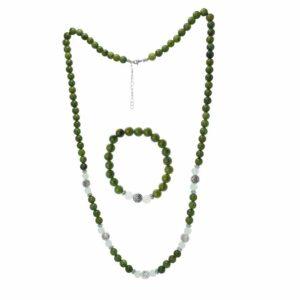 Newgrange Necklace with Earrings